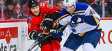 Blues give up two short-handed goals in 7-4 loss to Flames