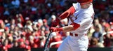 Hazelbaker's four hits spark Cards to 10-1 win over Brewers