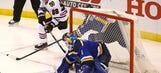 Blues' double OT battle ends in 4-3 loss to Blackhawks on Kane's backhand goal