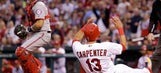 Cards will try to avoid series sweep by Nationals