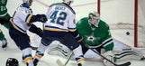 Backes leads Blues as Game 4 approaches