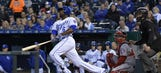 Royals searching for offensive spark against Nats
