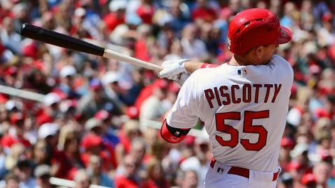 Despite violent inning, Piscotty still knows