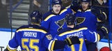 Blues' national TV schedule released