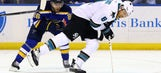 Blues in search of more ugly goals against Sharks