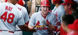 Gyorko's blast lifts Cardinals over Mets 3-2 in Game 1