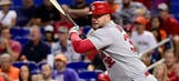 Cardinals welcome back another slugger: Adams is off the DL