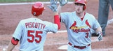 Cardinals' offense explodes in 12-6 victory over Pirates