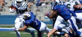 Kansas LB Dineen out for season with hamstring injury