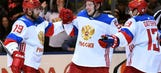 Tarasenko scores as Russia beats North America in WCH