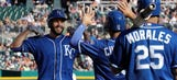 Five-run ninth leads Royals to 7-4 comeback win over Tigers