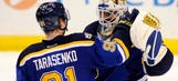 Blues beat Rangers 3-2, go to 3-0 for fourth time in franchise history