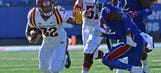 Jayhawks lose lead in fourth quarter, fall 31-24 to Cyclones