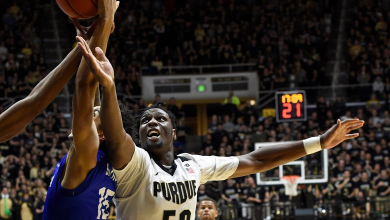 Purdue avoids upset with 64-56 comeback win over Georgia State