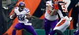 Adrian Peterson says 'stay tuned' about his status for Sunday