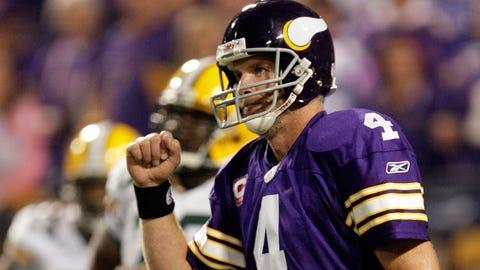 Brett Favre, former Vikings QB