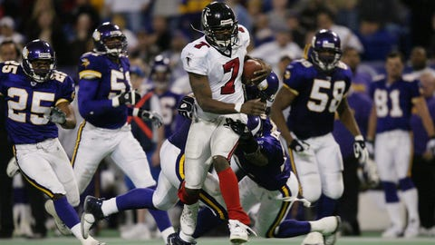 Michael Vick (first pick, 2001, Atlanta Falcons)