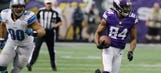 Vikings beat Lions to close Metrodome era with a win
