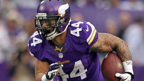 RB Matt Asiata, unrestricted
