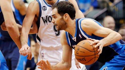 Mavericks at Timberwolves: 12/30/13