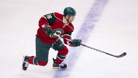 Comeback Player of the Year: Jason Zucker