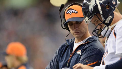 ADAM GASE, Broncos offensive coordinator