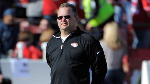 San Francisco offensive coordinator Greg Roman