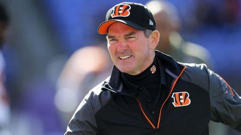 MIKE ZIMMER, Bengals defensive coordinator