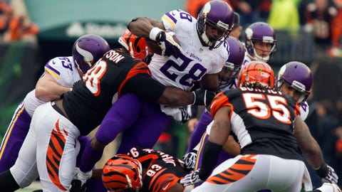 In pictures: Adrian Peterson