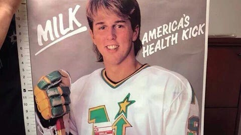 Mike Modano, former North Stars center