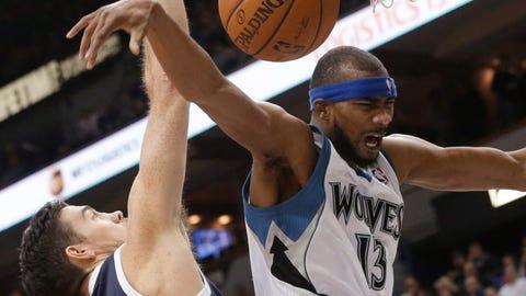 Thunder at Wolves: 1/4/14