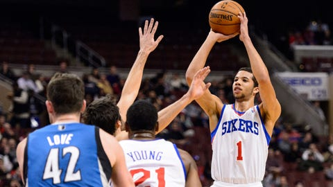 Wolves at 76ers: 1/6/14