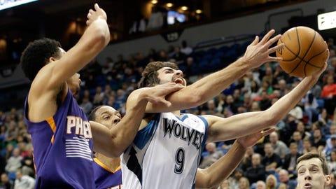 Suns at Wolves: 1/8/14