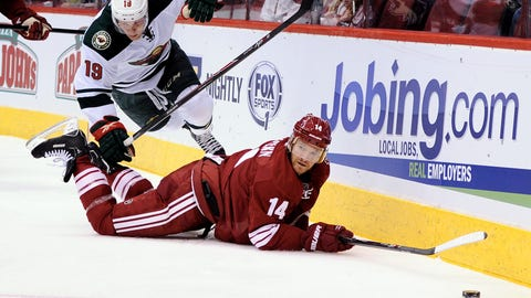 Wild at Coyotes: 1/9/14
