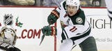 Wild's Parise to miss at 2 least games with back injury