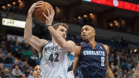 Bobcats at Wolves: 1/10/14