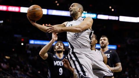Wolves at Spurs: 1/12/14