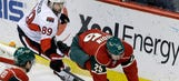 Wild lethargic early in 3-0 home loss to Senators