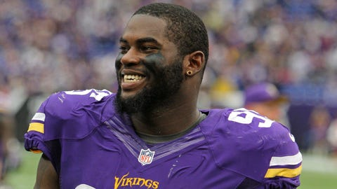 Sharrif Floyd, DT, Florida / Drafted 23rd overall by the Minnesota Vikings