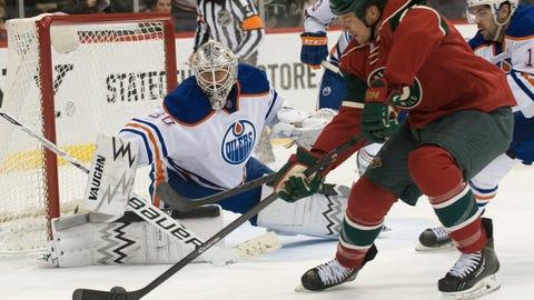 Edmonton Oilers at Minnesota Wild: 1/16/14