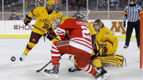 Hockey City Classic, Buckeyes at Gophers: 1/17/14