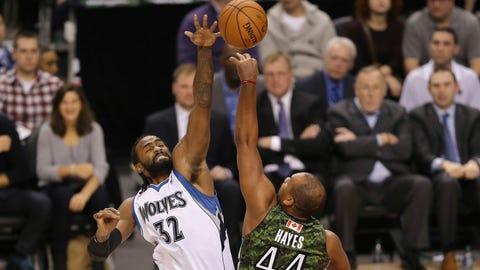 Wolves at Raptors: 1/17/14