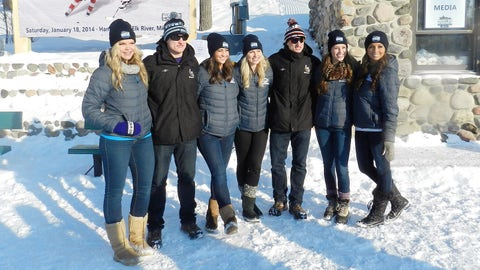 Sage and Chyna of the FOX Sports Wisconsin Girls joined Kendall, Angie and Kaylin for the day