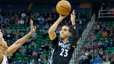 Wolves at Jazz: 1/21/14