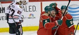 Wild beat Blackhawks for third time in four games this season