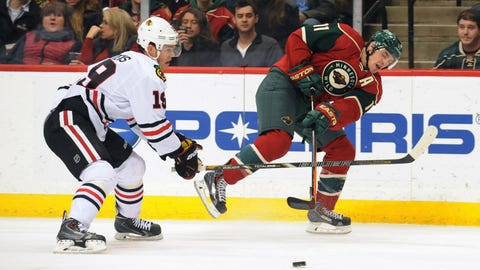 Blackhawks at Wild: 1/23/14
