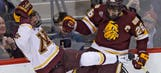 Top-ranked Gophers overwhelmed by No. 13 UMD, 3-0