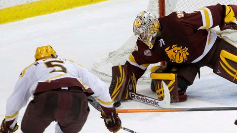Bulldogs at Gophers: 1/25/14