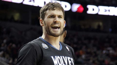 Timberwolves at Trail Blazers: 1/25/14