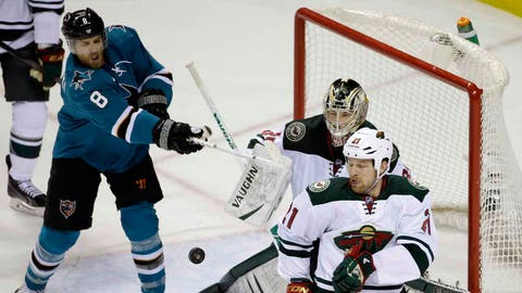 Joe Pavelski -- Round 7, 2003; 205th overall by San Jose Sharks